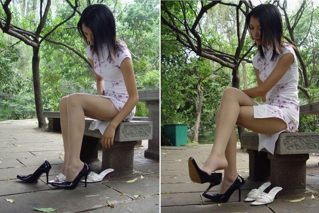 【コスプレ画像】妖艶なチャイナドレス美女の切れ込みから覗く美脚に可能性を見出してみるwww 05