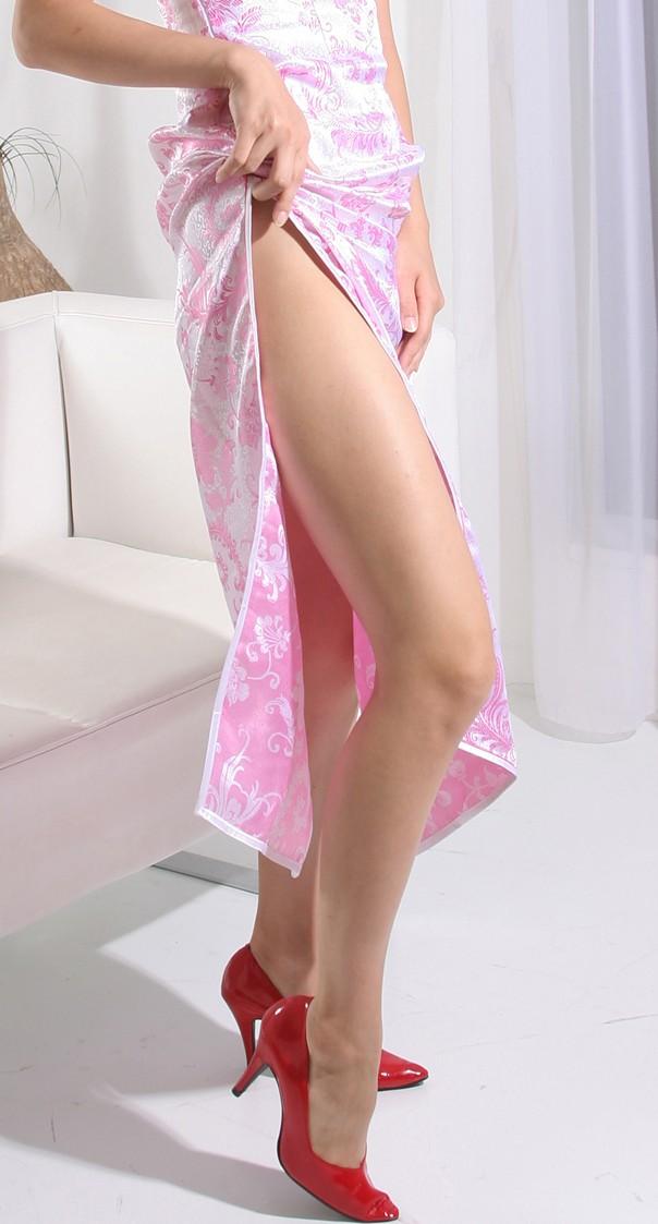 【コスプレ画像】妖艶なチャイナドレス美女の切れ込みから覗く美脚に可能性を見出してみるwww 18