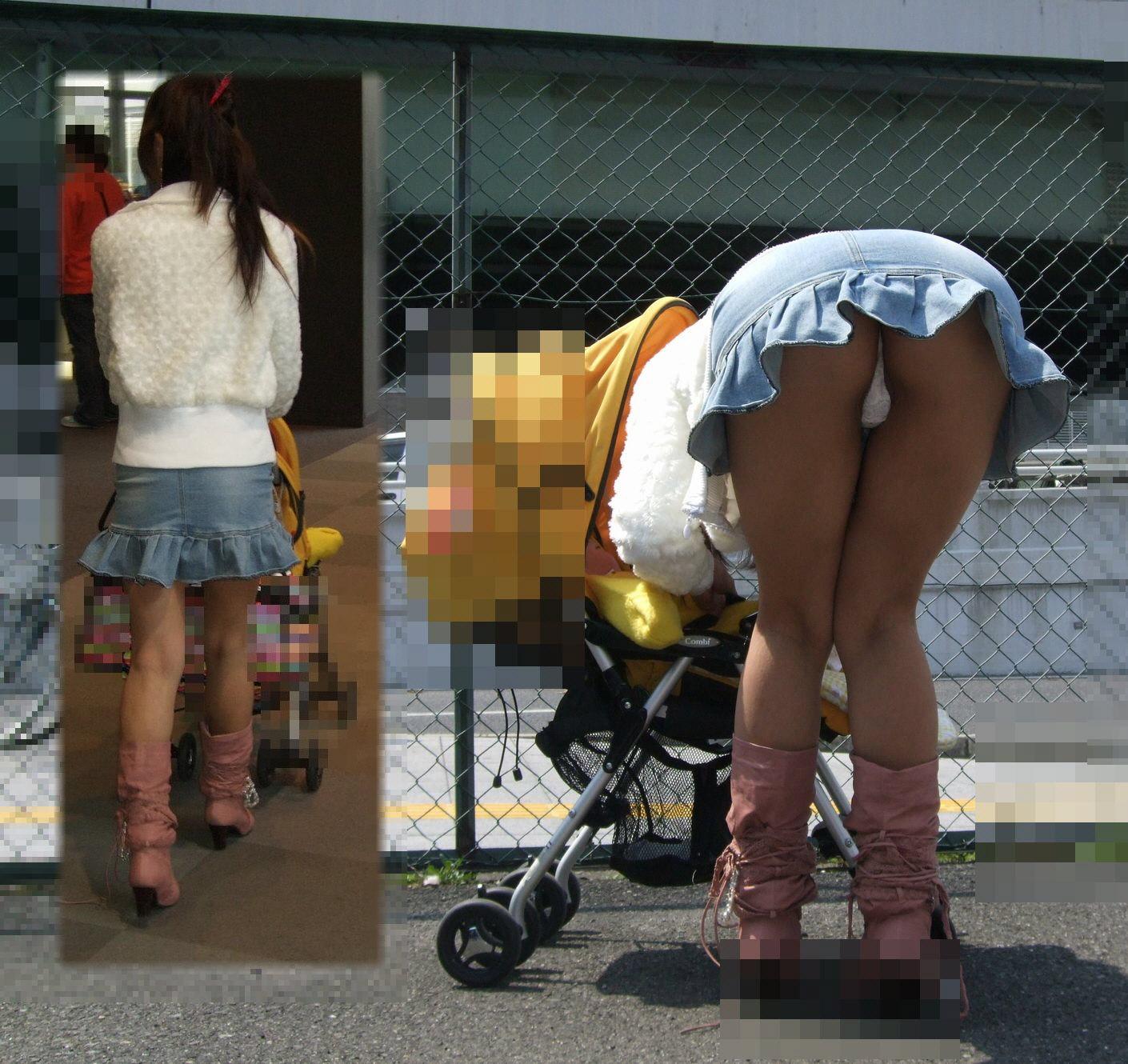 【パンチラ画像】何気なく覗いたスカートの奥がTバックだった時の感動は異常www 17