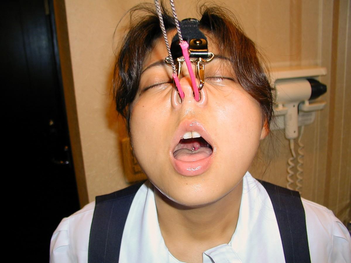 【SMマニア画像】顔面拘束画像 変顔を強いられた愛奴たち 13