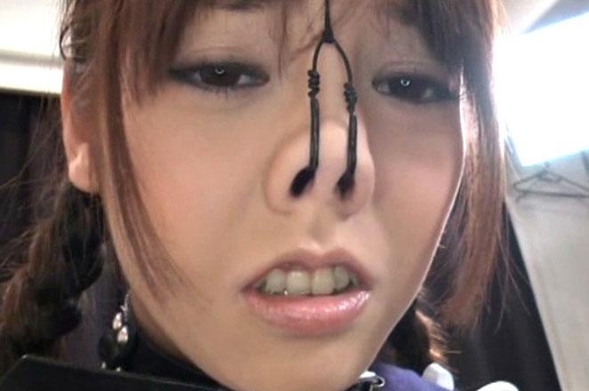 【SMマニア画像】顔面拘束画像 変顔を強いられた愛奴たち 21