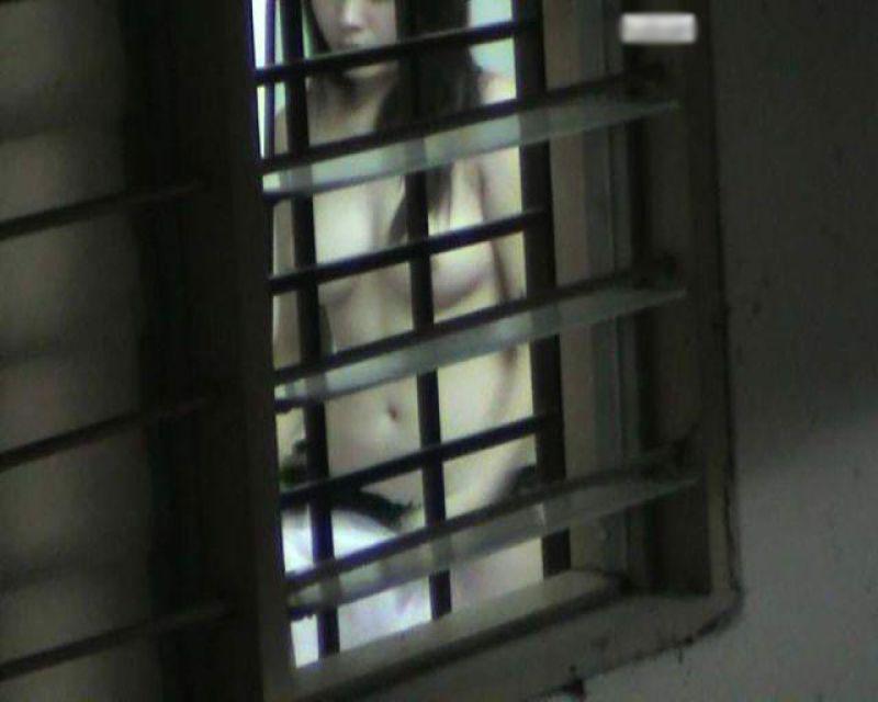 【民家盗撮】窓から見えた隣人の恥ずかしい姿 15