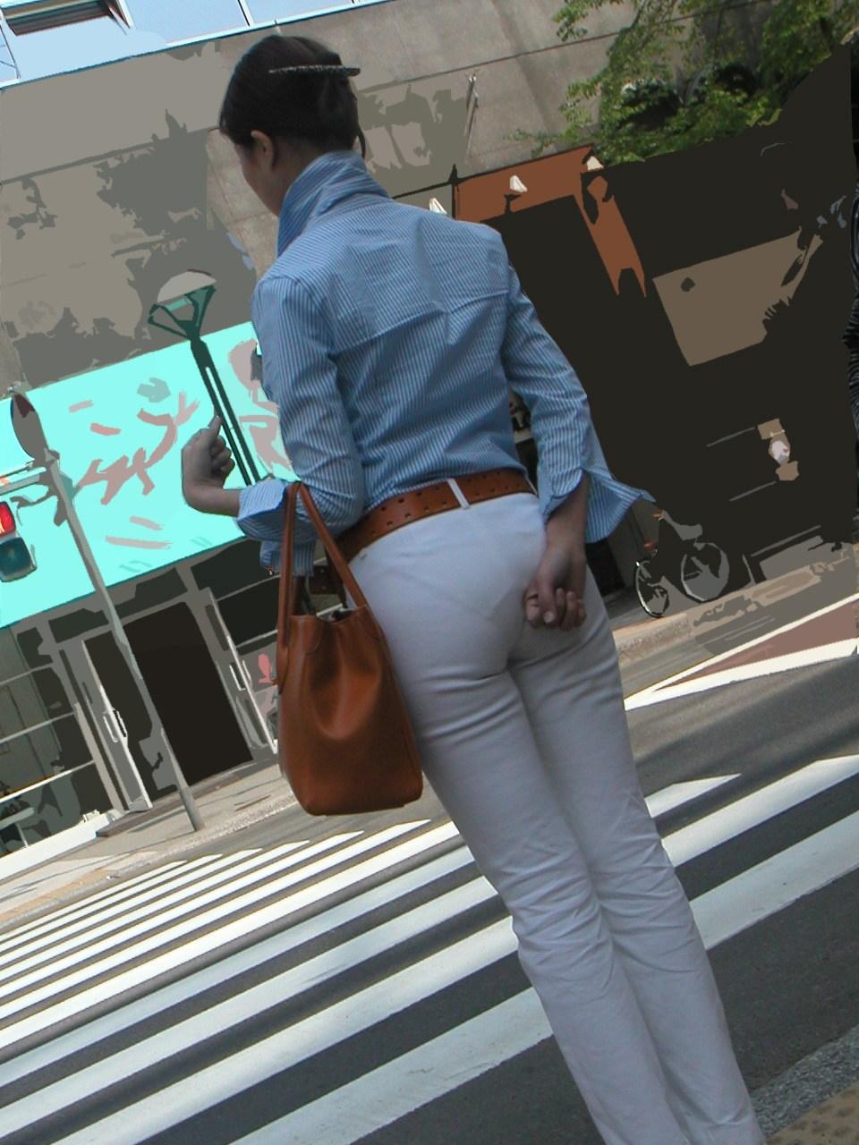 【着衣尻画像】美麗な着衣尻を集めてみた 11