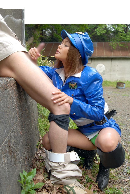 【コスプレH画像】婦警コスでエロい事してる画像を貼ってく 11