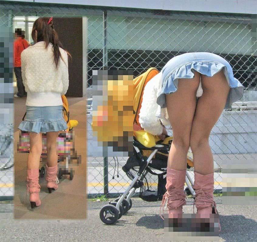 【街撮り人妻画像】旦那が見たら泣くぞwww胸も尻も無防備すぎた若奥様たち 12