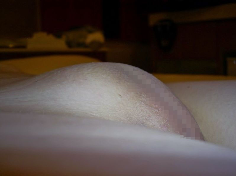 【パイパン画像】盛り上がり方がハンパない女子のツルツル股間画像 09