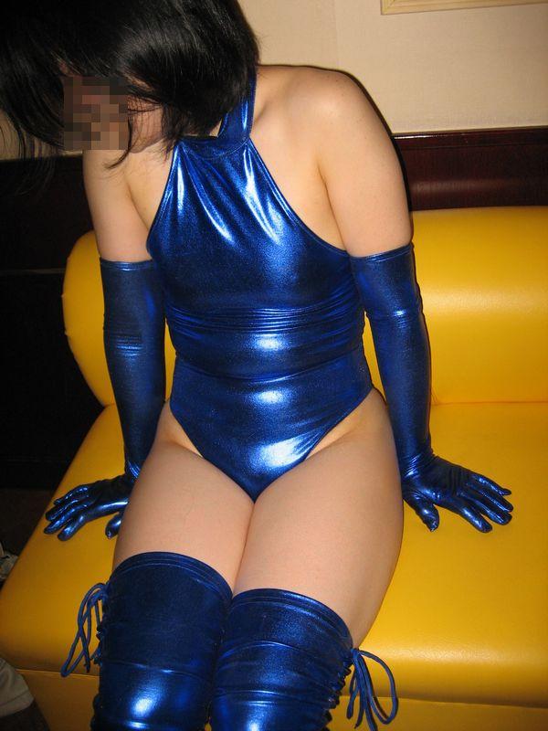 【コスプレ画像】食い込みノーブラが基本wwwレオタード纏ったムチムチ女体 17