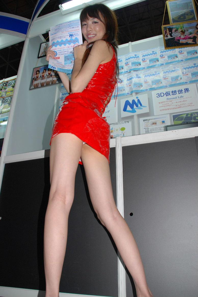 【パンチラ画像】下着じゃないから恥ずかしくない的ノリな美人コンパニオン達www 12
