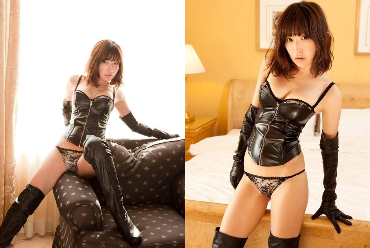 【コスプレエロ画像】セクシーで威圧感も漂うボンデージ美女の画像 20