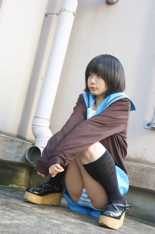 【コスプレ画像】衣装の一部ですから!パンツ丸見えコスプレイヤー 04