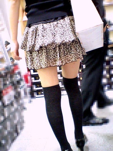 【街撮りフェチ画像】女の子のソコは不可侵www街で見かけた絶対領域 19