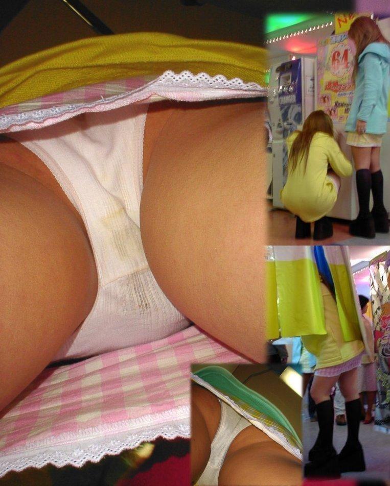 【パンチラ盗撮】淑女達のスカートの中のムレムレ下半身を暴くパンチラ画像 14