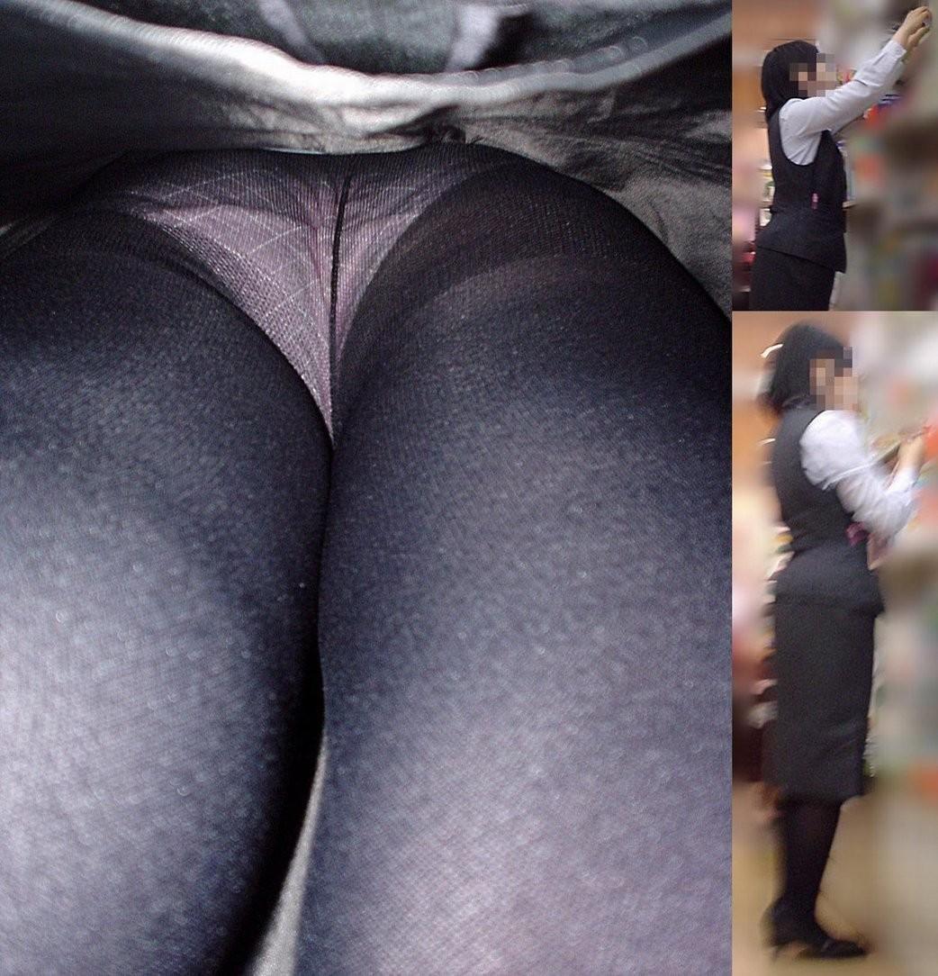 【パンチラ盗撮】淑女達のスカートの中のムレムレ下半身を暴くパンチラ画像 19