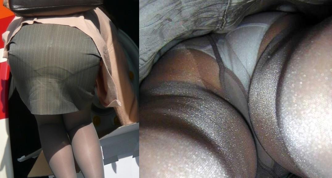【パンチラ盗撮】業務中、社内行事に外回り…働く女性のムレた股間を必死に覗いたパンチラ画像 10
