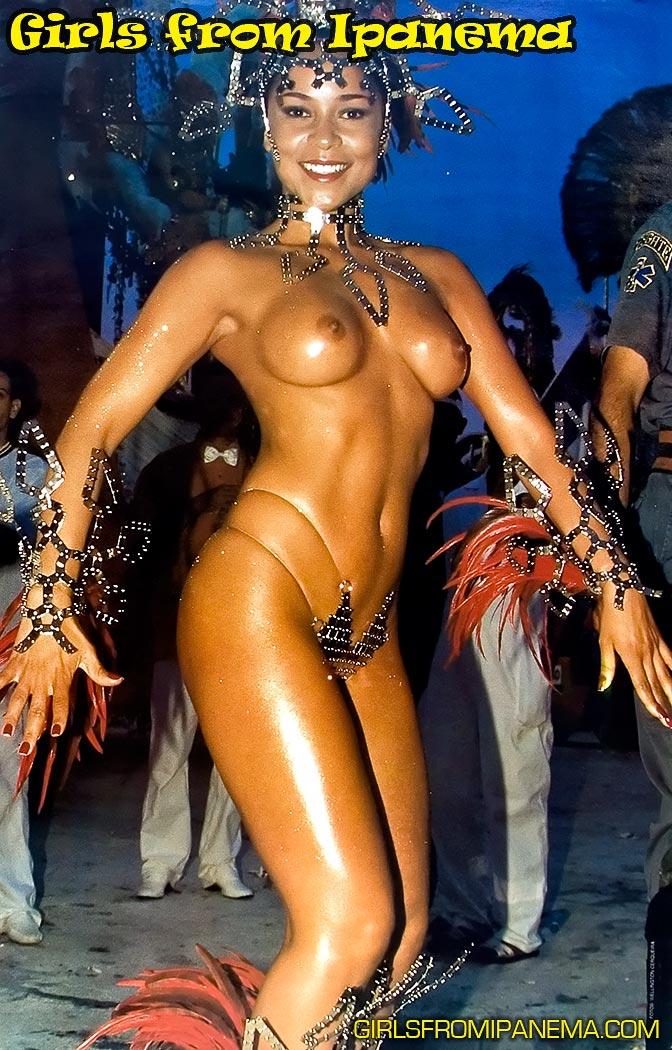 【外人エロ画像】公認猥褻ですw乳首露出しまくりの情熱サンバカーニバル 10