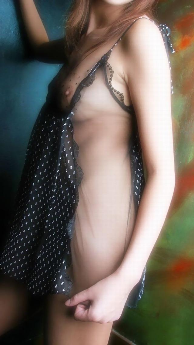 【セクシー下着】着てるのに見えてるって素晴らしいw乳首と陰毛が透けてるエロ下着(エロ画像) 03