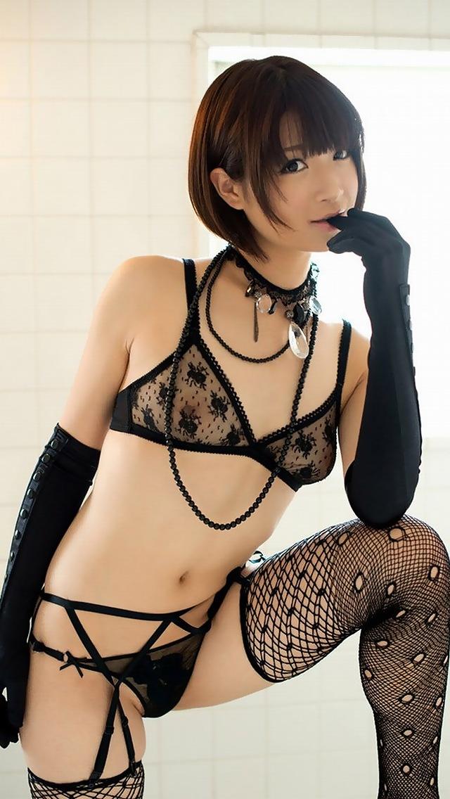 【セクシー下着】着てるのに見えてるって素晴らしいw乳首と陰毛が透けてるエロ下着(エロ画像) 19