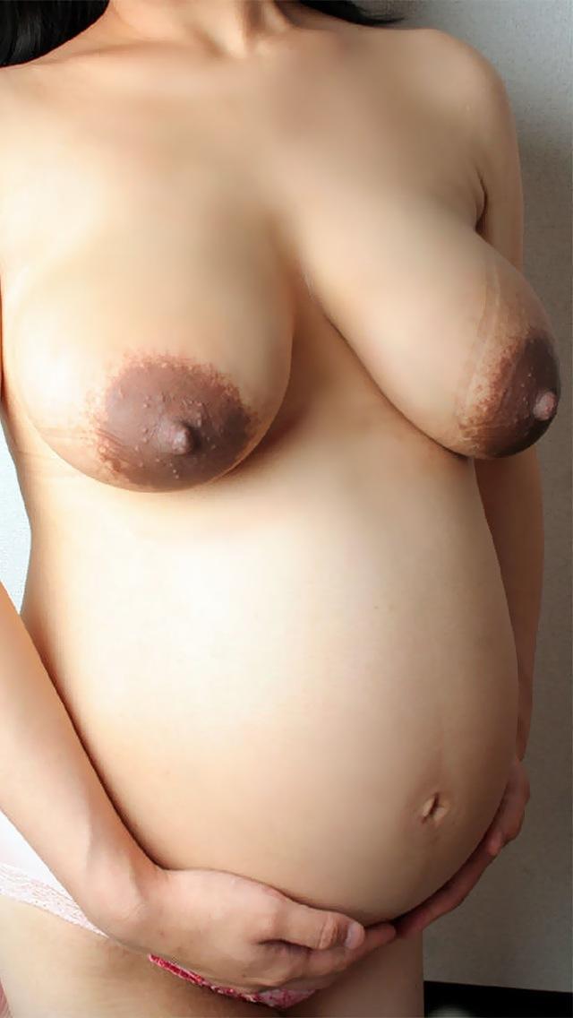 【妊婦エロ画像】子供のために頑張る方法を間違えてない?孕んでもなお盛んな妊婦ヌード  16