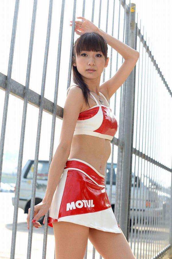 【RQ・キャンギャルエロ画像】スタイル出してこんな衣装じゃ欲情されて当然なRQ・キャンギャル達  06