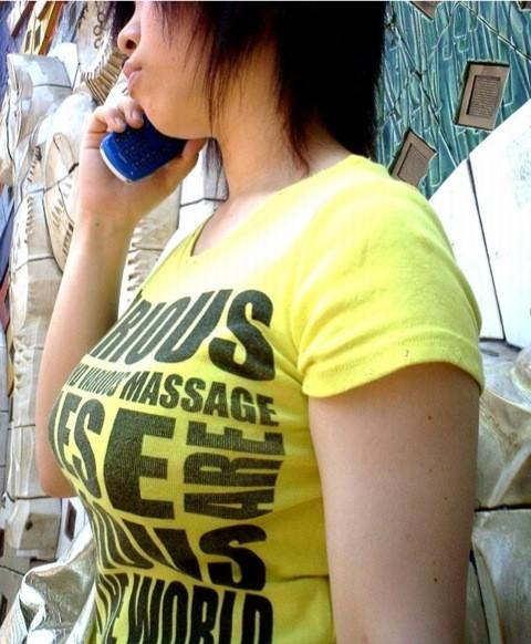 【街撮り着衣巨乳エロ画像】油断してたら勃起して汁も出そうなほど危険レベルの街角の着衣巨乳www  02