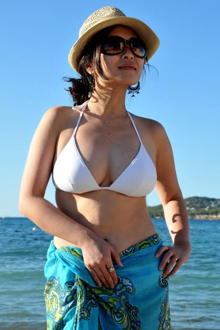 【水着エロ画像】ビキニギャルに会うために今年は海行き決定!まだ勃起耐性ないけどwww  03