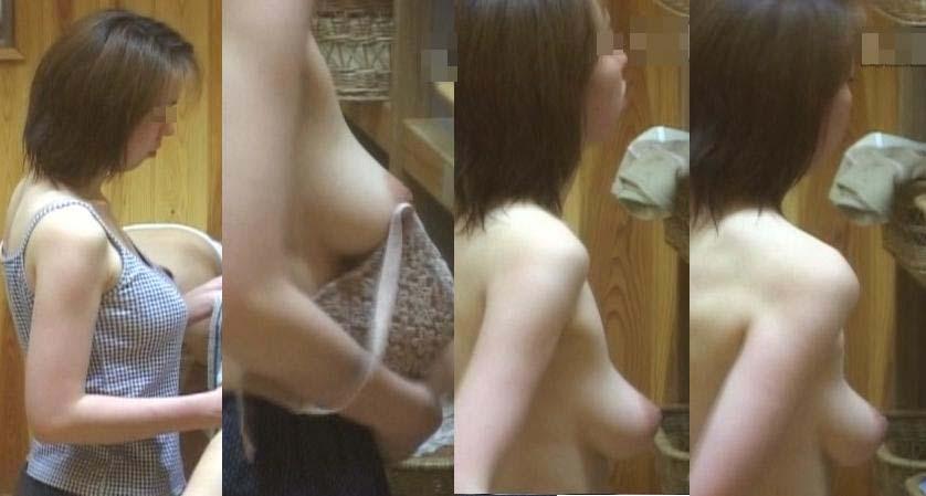 【盗撮エロ画像】危険な分だけ見返りも…抜ける女体揃いな風呂・脱衣所の隠撮画像  04