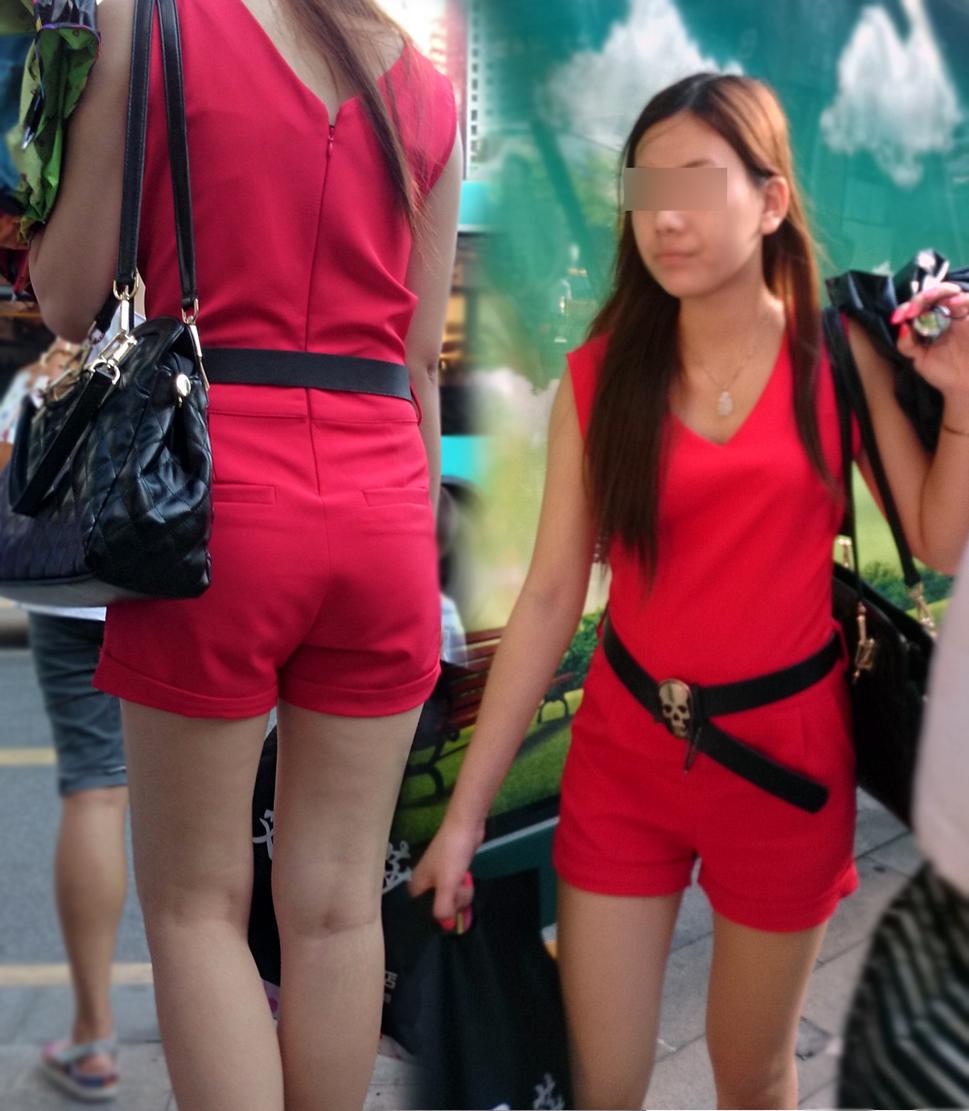 【中華美脚微エロ画像】美脚の楽園、中国で街撮りw数歩進めばほっそり女脚と巡り会えるwww 02