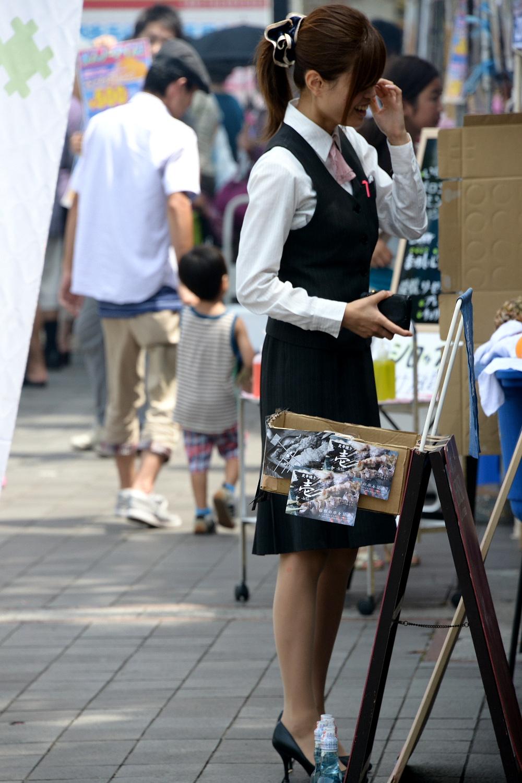 【街撮りOLエロ画像】着衣尻と美脚を只管追っかけ!肉付きたまらん働く女性の下半身www 04