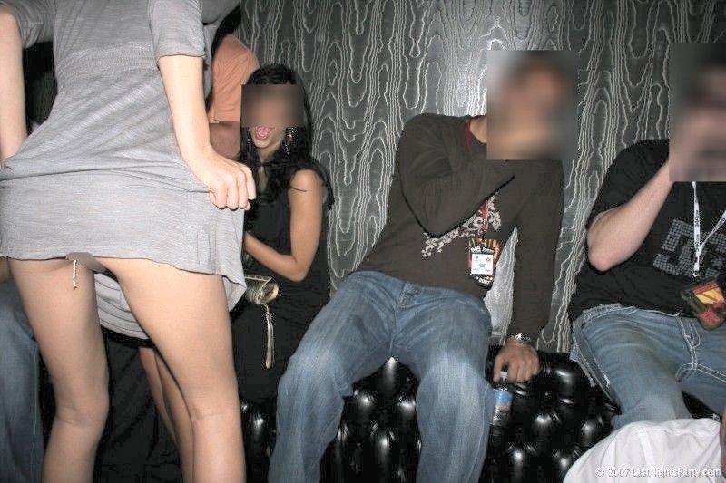 【股間エロ画像】ナプキンの余りにタンポンの紐ヤベwww生理中な女子の股間はこんな感じ 04