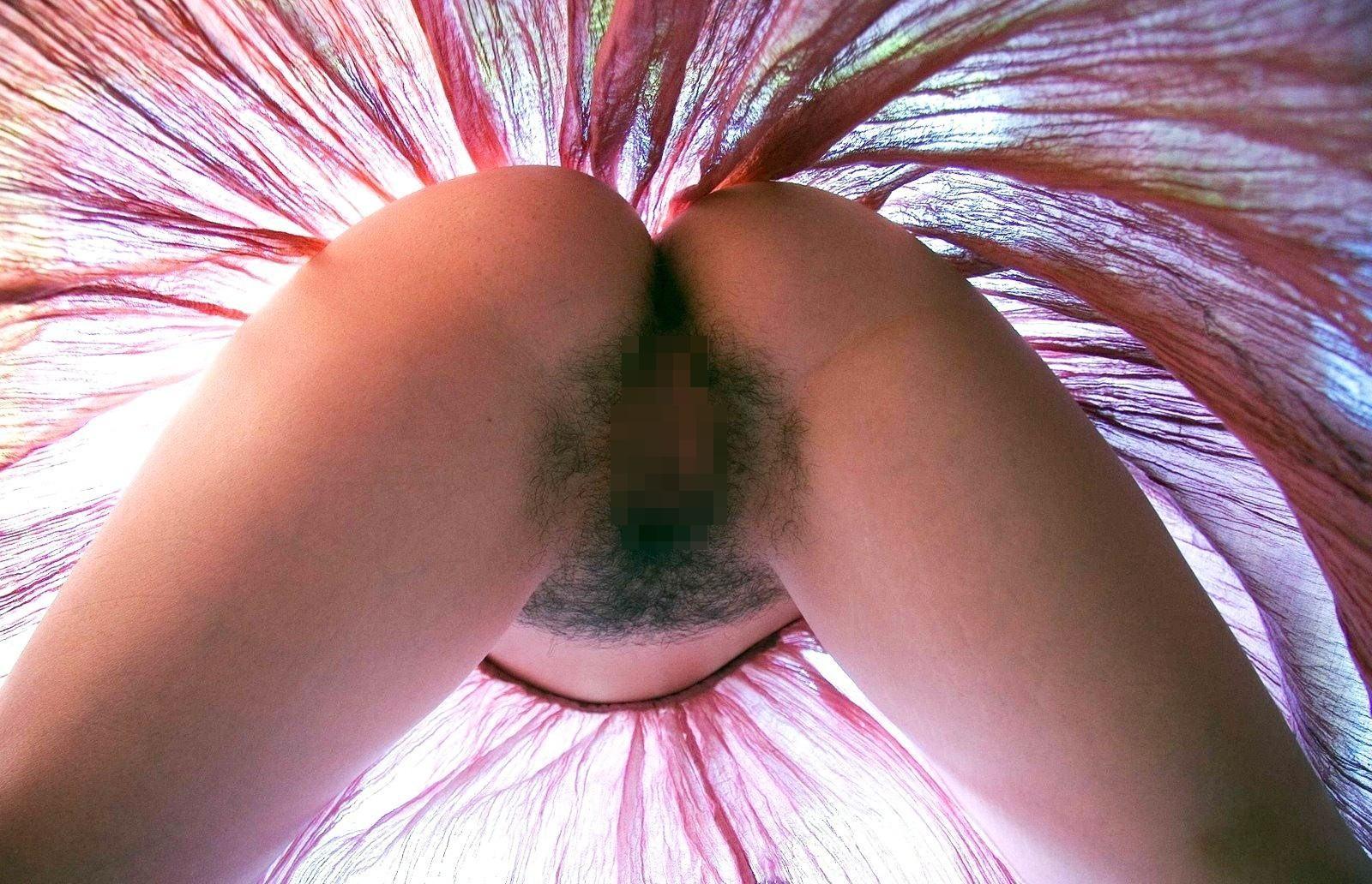【陰毛エロ画像】脱がせてビックリ!ゲジゲジ言うなしw剛毛女のモッサリ股間www 15