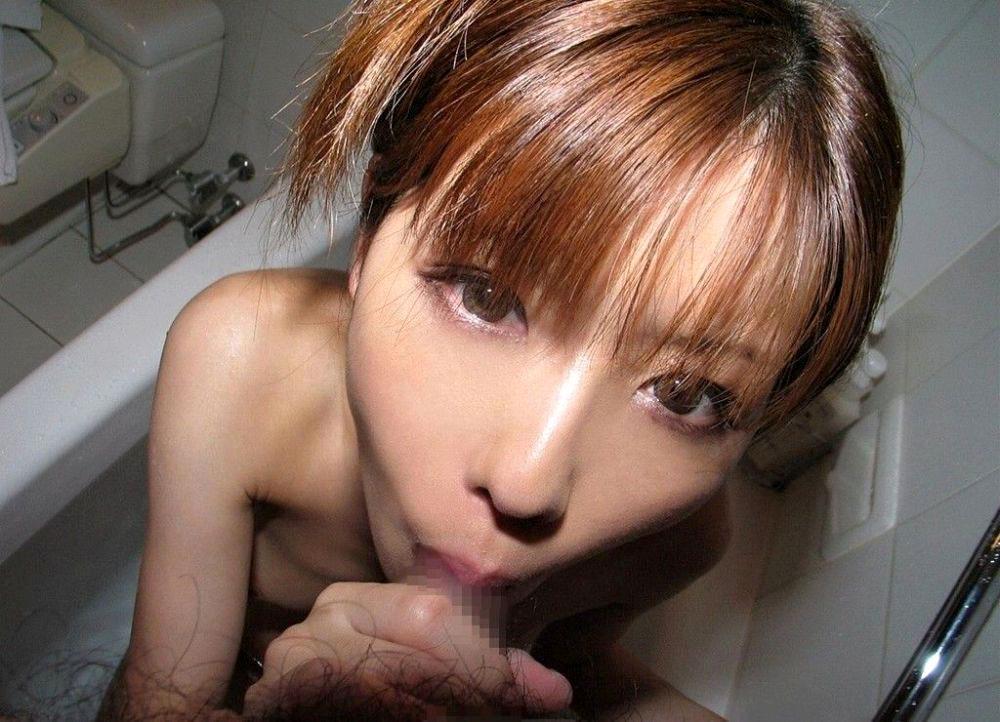 フェラチオ画像 50枚 これがチンポをペロペロ舐めてる女子の顔wwwww