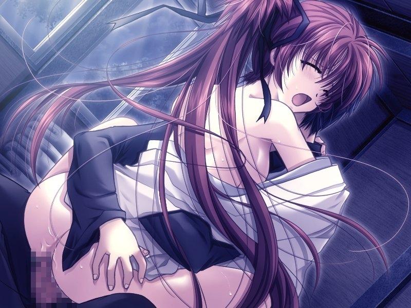 【二次エロ画像】抱き合いながら一緒に昇天!萌えて抜けるだいしゅきホールドwww 04