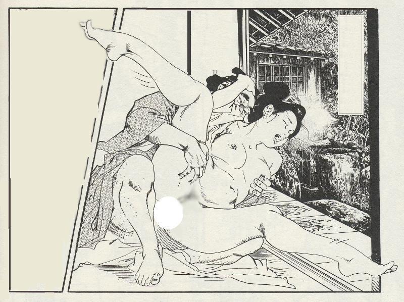 【二次エロ画像】あらゆる意味で濃厚w春画や劇画調なひと昔前の二次エロ画像www 03