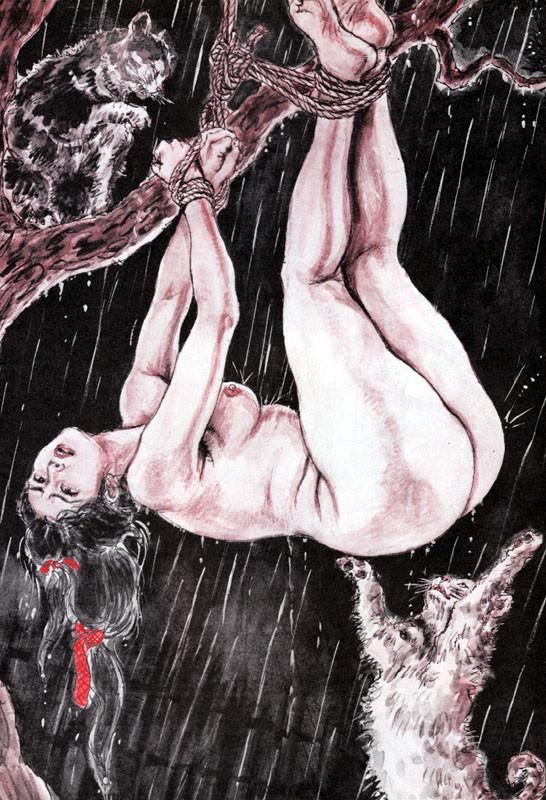 【二次エロ画像】あらゆる意味で濃厚w春画や劇画調なひと昔前の二次エロ画像www 09