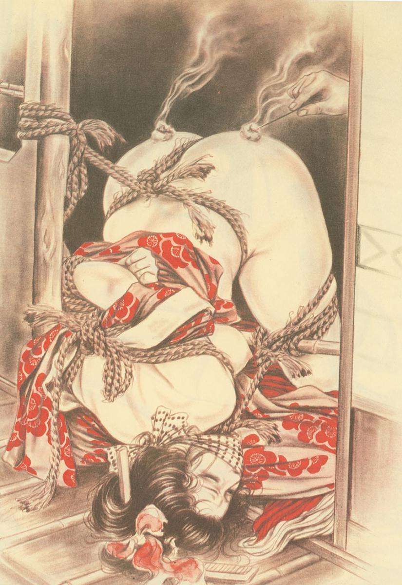 【二次エロ画像】あらゆる意味で濃厚w春画や劇画調なひと昔前の二次エロ画像www 14