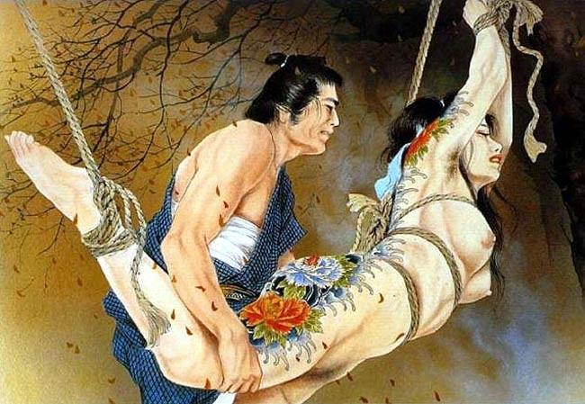 【二次エロ画像】あらゆる意味で濃厚w春画や劇画調なひと昔前の二次エロ画像www 15