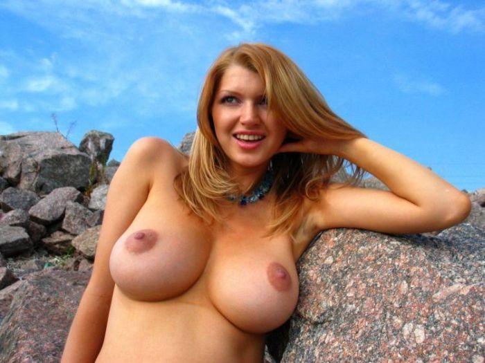 【海外エロ画像】人生で一度はヤッてみたい!美巨乳クビレが垂涎モノな外人美女の裸体www 13