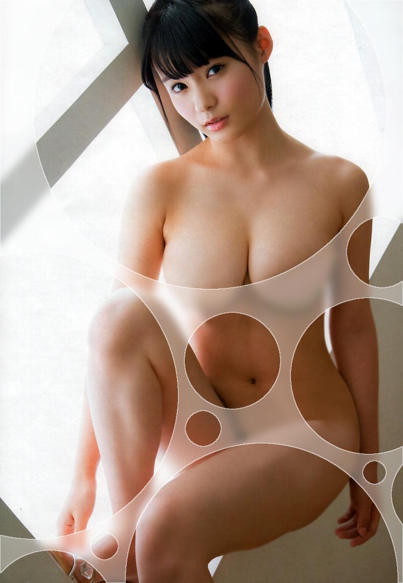 【着エロ画像】水玉コラより更に上があった!過激でしかないガラスコラ加工www 08
