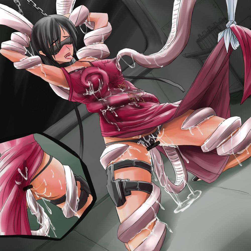 【二次エロ画像】(※閲覧注意)無理矢理イカされて変な顔まで晒される女の子の性的拷問www 09