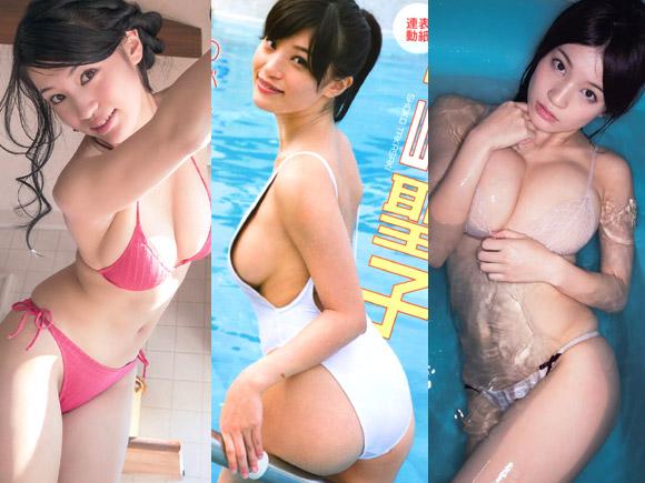 高崎聖子(21)のタプタプ爆乳とプリプリ美尻。エロ画像×67