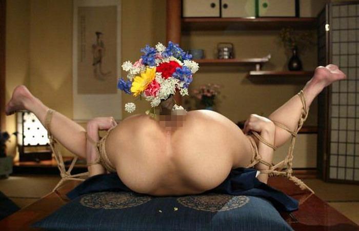 【SMエロ画像】昔の拷問っぽくて酷w着物姿の女性を緊縛して徹底調教www 001