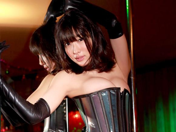 今野杏南さん、今度はSM風ボンデージ!イヤラシ過ぎるのでやめて下さい。画像×52