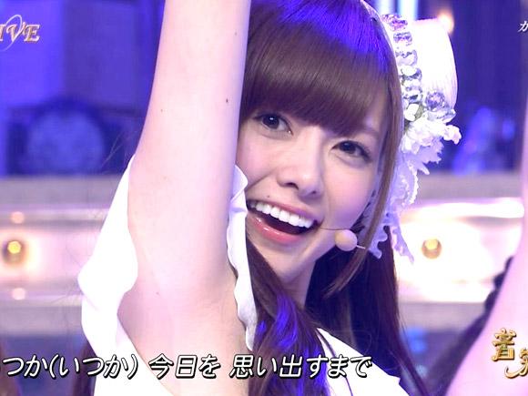 【乃木坂46】白石麻衣、西野七瀬…人気メンバーのワキマ●コ画像
