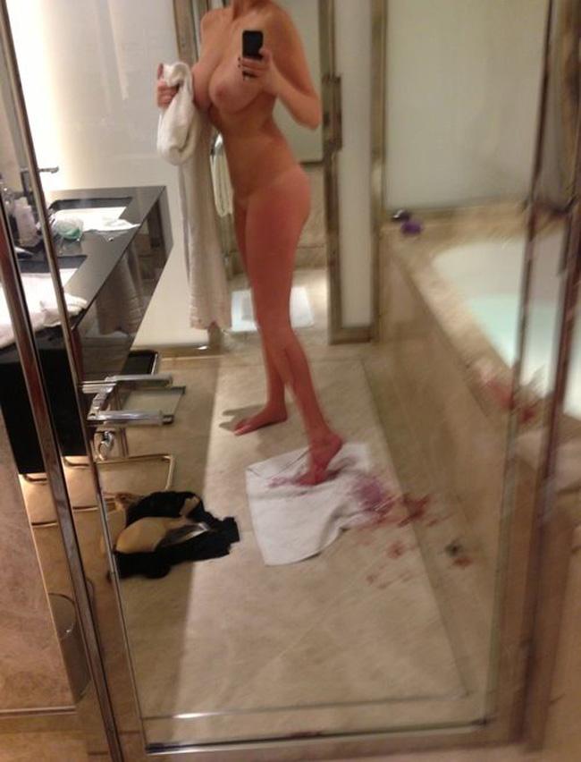【海外エロ画像】美しさは罪…拘る外人美女たちの堂々たる自撮り裸体www 02