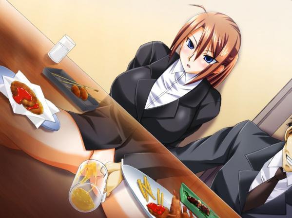 【二次エロ画像】可愛い娘もこうして排泄w現実味ありすぎな放尿シーンwww 16