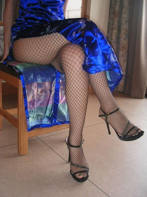 【コスプレエロ画像】真似できないこのスリット!美脚の魅せ方に定評あるチャイナドレスwww 07