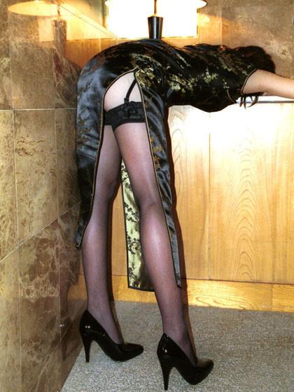 【コスプレエロ画像】真似できないこのスリット!美脚の魅せ方に定評あるチャイナドレスwww 17