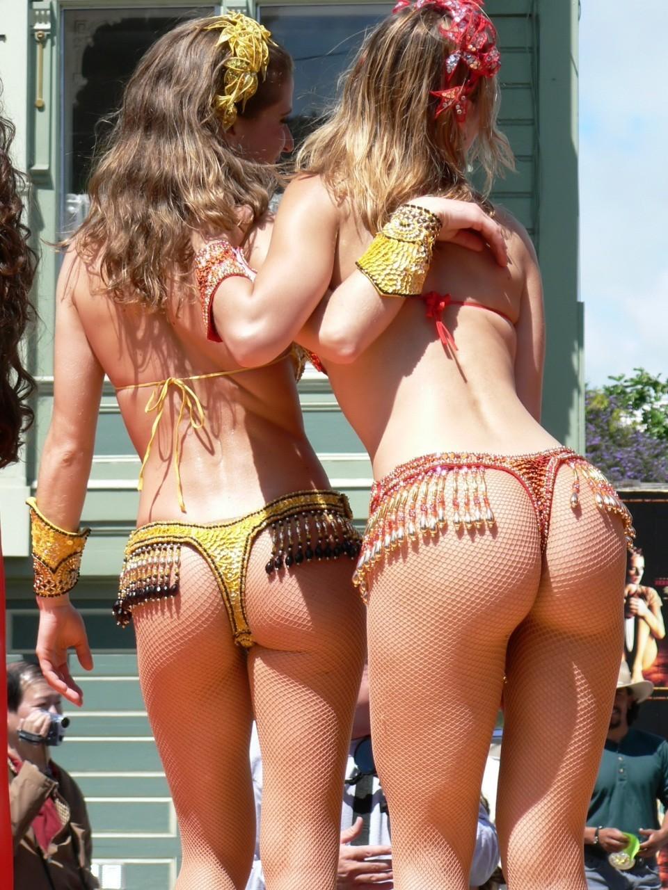 【サンバエロ画像】露骨なスケベさは伝統なので…ハミ出し上等カーニバルwww 17