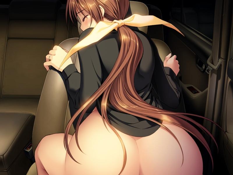 【二次エロ画像】おっぱい見せんかゴラァ!と時にはクレーム食らう下半身だけ裸の娘www 15