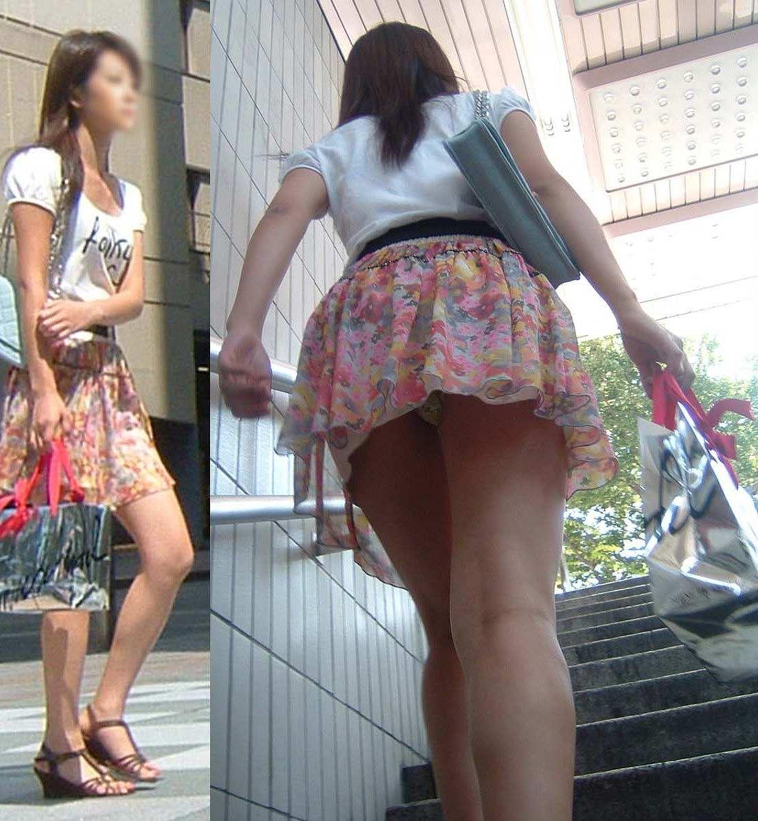 駅に行くだけでこんなにパンツが見られる季節なんだから外でろよwwwwww